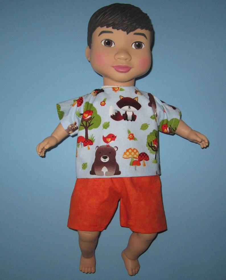 d5cbe206c67 Étonnant équipage tenue vêtements de poupée forêt animaux | Etsy