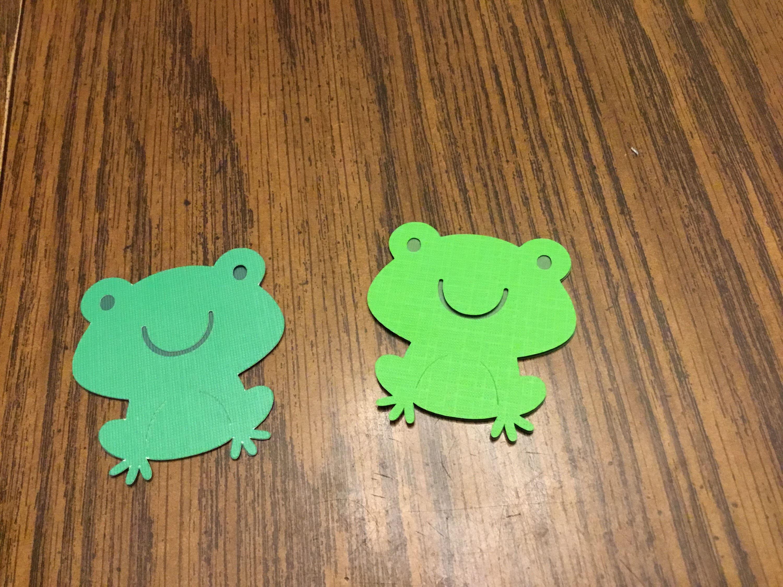 Frog die cuts | Etsy