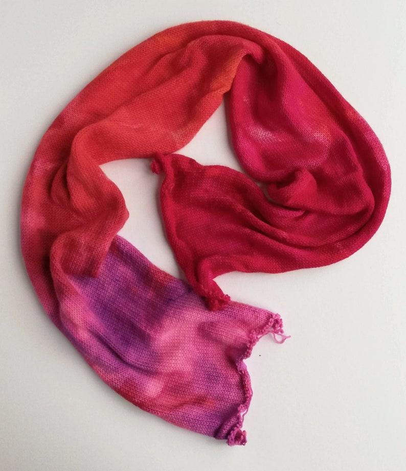 Hand dyed 75/25% superwash merino/nylon sock/fingering/4ply image 0