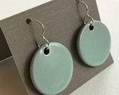 Glazed Clay Earrings
