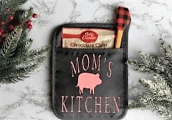 Oven Mitt, stocking stuffer for Mom, Christmas gift