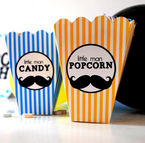 Sofortiger Download Popcorn Und Candy Herr Schnurrbart Mini