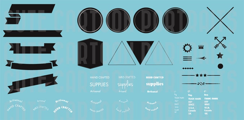 Do It Yourself Logo Badge Vector Clip Art Digital Collage image 0