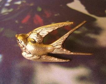 Woodpecker Image Rhodium Plated Tie Clip in Gift Box
