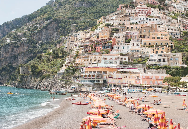 Italy Photography Summer in Positano Amalfi Coast Italy image 0
