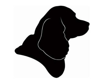 Hand Cut Pet Portrait - Custom Cut Silhouette Unframed -  Various Sizes - Perfect Gift for any Animal Lover Cats or Dogs