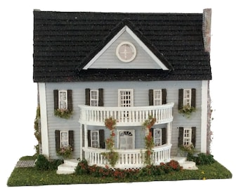 Complete Kit - 1:144th Inch Scale Classic Colonial Style House