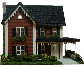 Complete Kit - 1:144th Inch Country Style Farm House