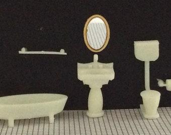1:48 Quarter Inch Scale Bathroom