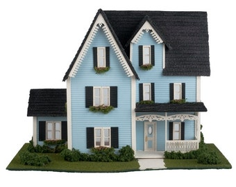 Complete Kit - Quarter Inch Victorian Style House