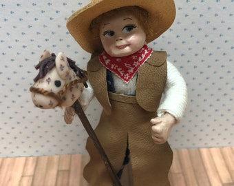 """One Inch scale, Hand Crafted """"Little Cowboy"""""""