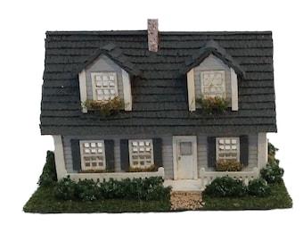 Complete Kit - 1:144th Inch Scale Three Quarter Cape Cod House