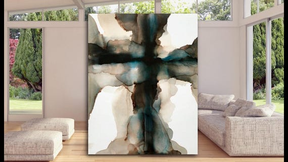 Abstract Design Canvas Print Large Picture Wall Print