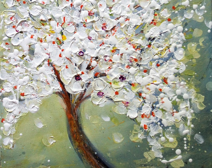 Blossom Homage to nature to the beauty of the cherry tree in the light of spring- a new beginning!