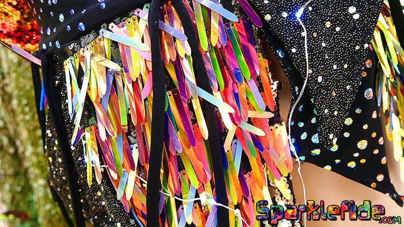 LED Luminous Matter Skirt Wrap