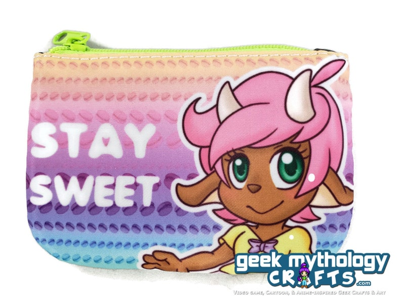 Mythfit Cafe Tabitha Satyr Stay Sweet Cosmetic Coin Purse image 0