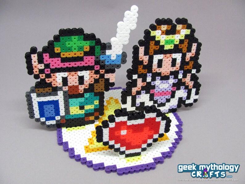 Legend Of Zelda Wedding Cake Topper Decoration With Round Base Etsy