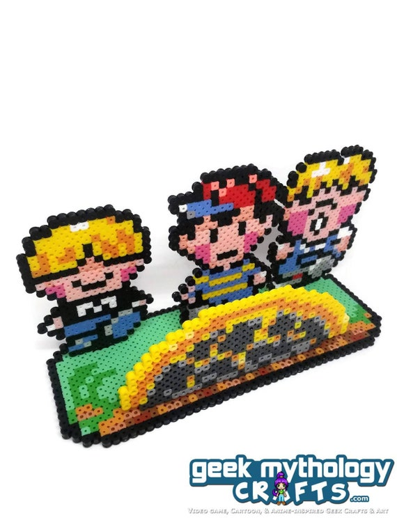 Earthbound Mother 2 Meteor Nintendo Perler Scene Ness Pokey Etsy