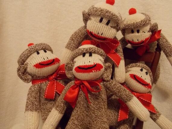 Handmade Crocheted Happy Monkey With Banana Amigurumi Doll/ Monkey ... | 428x570