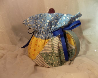 Large Teapot Cozy Old Quilt Tea Cozy Upcycled Quilt Tea Cozy 4-8 Cup Tea Cozy