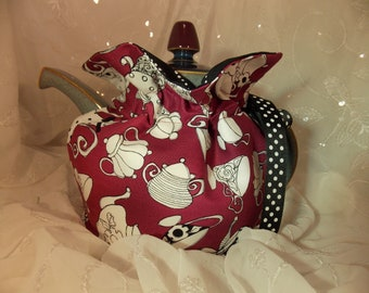 Teapot Cozy~Insulated Tea Cozy~Loralie Designs Teapot Cozy~6-8 Cup Teapot Cozy