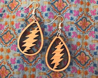 Bonnie Hardwood Earrings