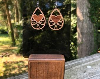 Dorothy Hardwood Earrings