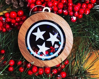 TN Shaker Ornament