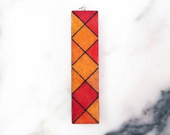 Orange Sparkle Pendant