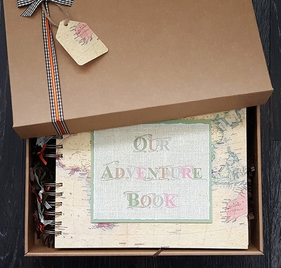 Our Adventure Book Gift For Girlfriend Or Boyfriend Etsy