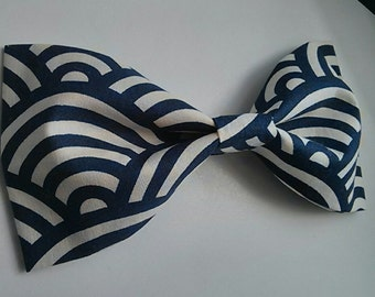 Large Hair Bow Barrette READY TO SHIP