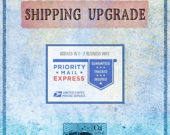 """SHIPPING UPGRADE """" Copper Art Designs Production """""""
