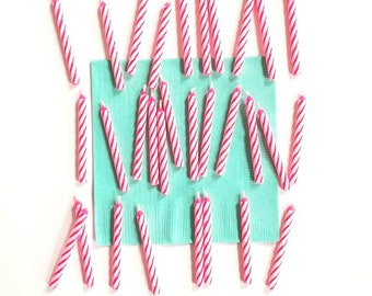 30 Pink Birthday Candles