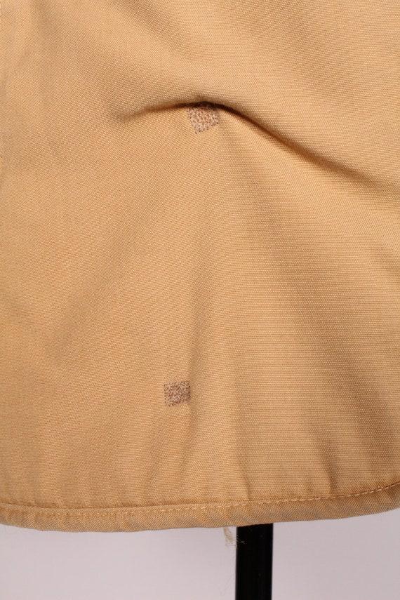 Bonnie Cashin //  Vintage 70s 80s Tan Canvas Coat… - image 8