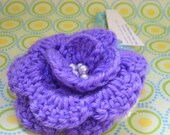 Pet Collar Corsage in Violet