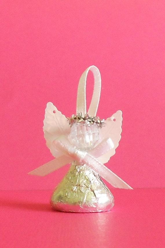 Chocolate Candy Angel Wedding Favor Bridal Shower Favor Etsy