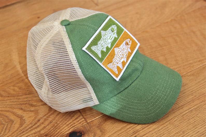 2afdb9d7a508a Trout Hemp Baseball Cap