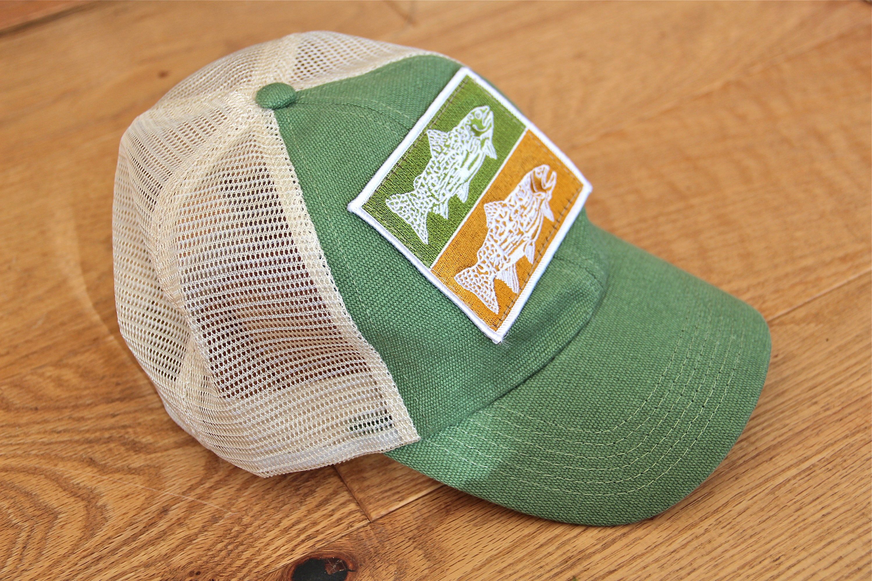 Trout Hemp Baseball Cap  b093bcc099b