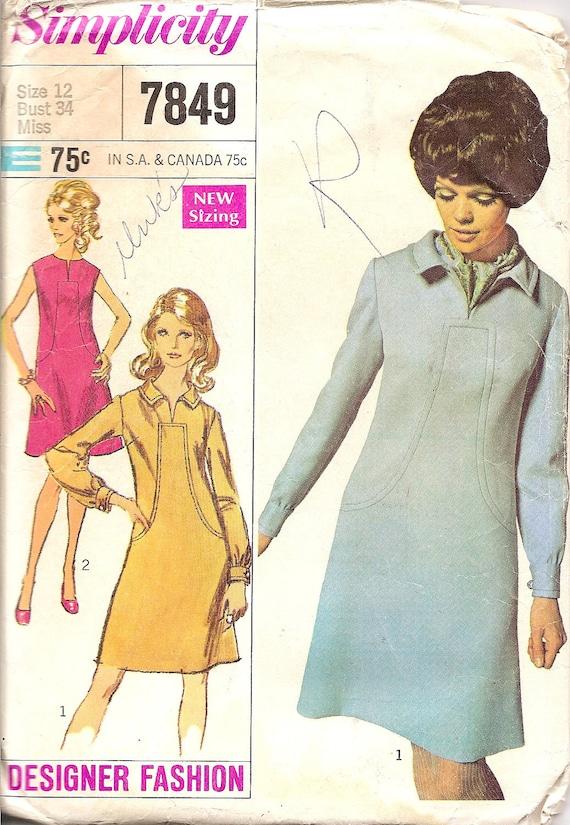 Kleid 60er schnittmuster