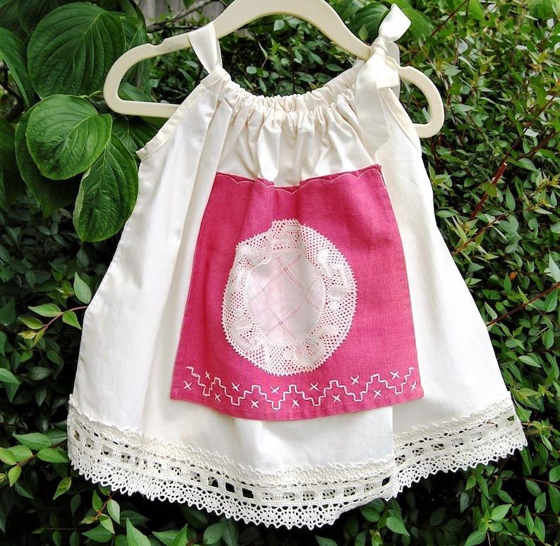 12b3b157f629 Vintage Baby Clothes Baby Girls Dress Ivory Cotton Tea | Etsy
