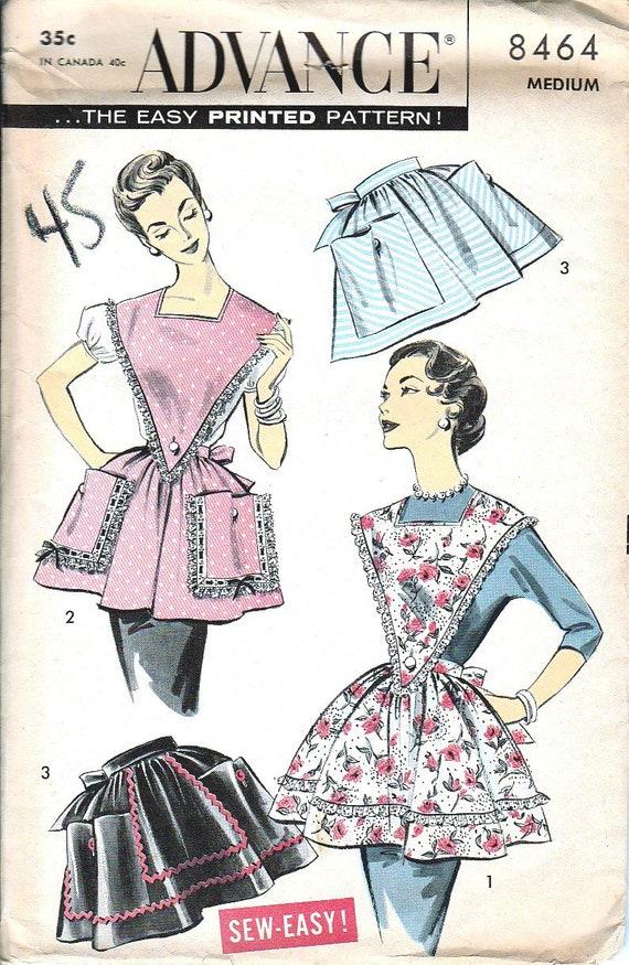 Simplicity Patrons de Vintage 1950/de Wrap Robe en Deux Longueurs Patron de Couture Papier