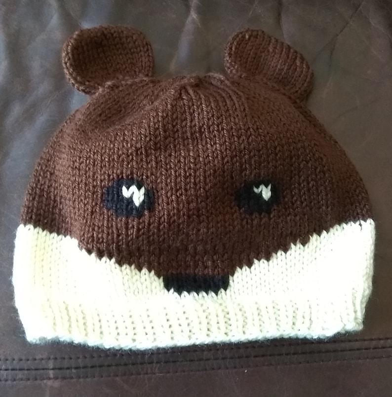 Bear Hat Pattern