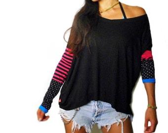 Mod Pink Stripe Sport Tunic