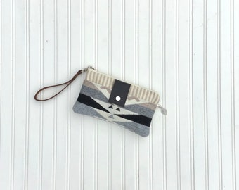 Southwestern Smartphone Wallet, Wristlet Made With Pendleton® Wool
