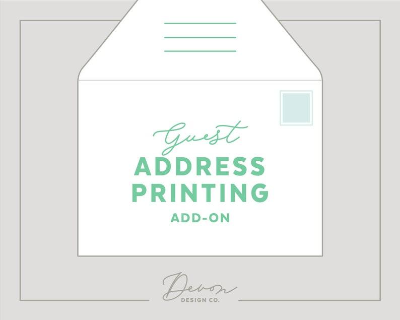 custom envelope addressing wedding invitation add-on image 0