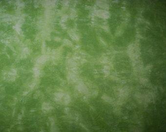 Green Pale Moss Hand Dyed Fabric, Silk Hemp Fabric, Embroidery Fabric, Doll Clothing Fabric, Silk Quilt Fabric, Quarter Yard