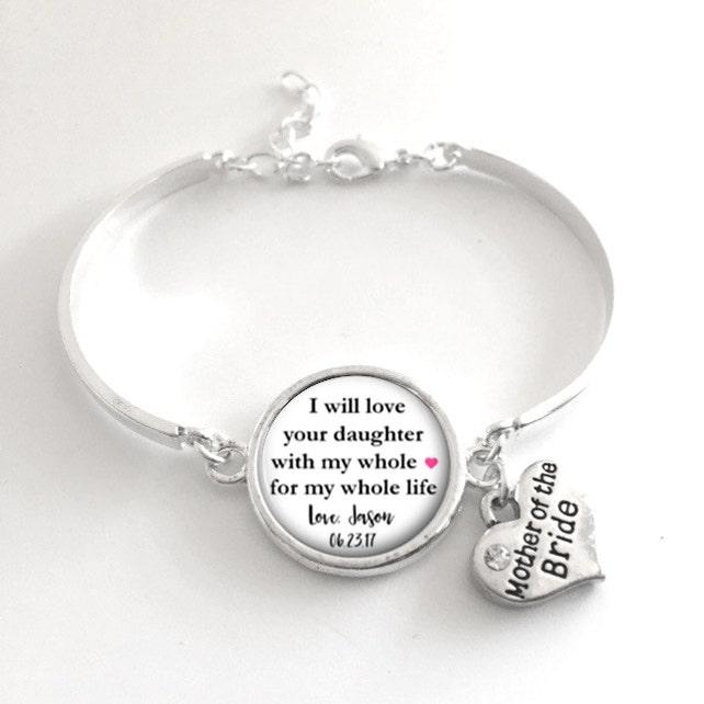 Mother of the Bride Bracelet Keepsake Style 720