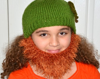 St Patricks Day Bearded Beanie d08ceaf8129