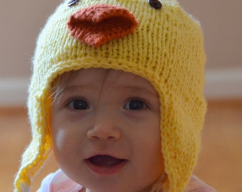 92c096731451 Knit chick hat