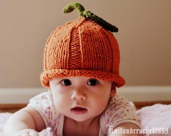 0c2903911e5 Knit pumpkin hat